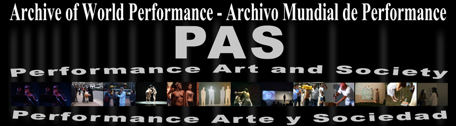Archive of World Performance / Archivo Mundial de Performance